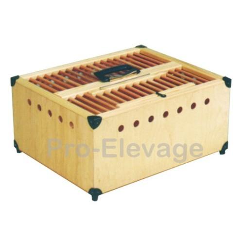 Caisse de Transport en bois pour volailles