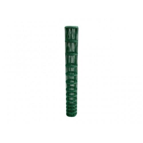 Pack Rouleaux 1.6m de haut 25 ml de Grillage Forestier Soudé Galva PVC BENIFORCE fil 2.1 mm 13 fils