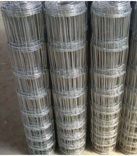Pack Rouleaux 1.6m de haut 50 ml de Grillage Forestier Galva Eco fil 2.0 / 1.6 mm 15 fils
