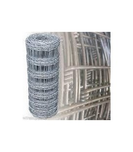 H 2.00m de haut fil 2.5 / 2.0 mm 17 fils 50 ml de Grillage Forestier GALVA PREMIUM