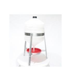 Abreuvoir siphoïde 30 litres plastique (complet)