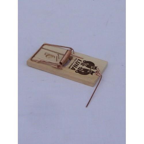 Piège - tapette à souris en bois ''Luna''