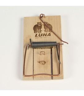 Piège - tapette à rat en bois ''Luna''