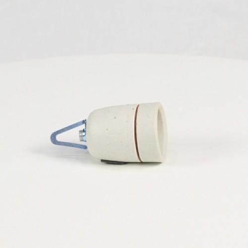Douille en porcelaine E27