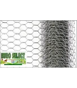Palette Rouleaux de grillage hexagonal 10 ml- Hauteur 1 m - maille25mm - diamètre fil de 0.80mm