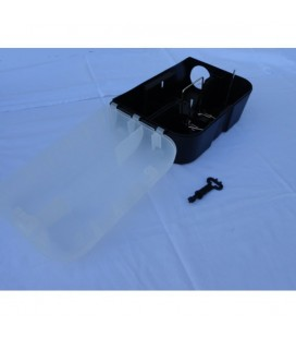 Voerdoos transparant met rattenval