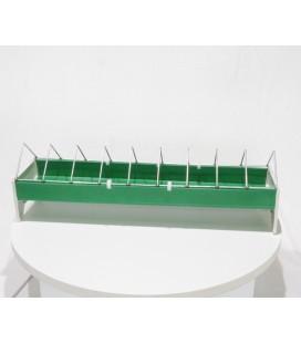 Mangeoire poussins linéaire 40 cm plastique (râtelier)