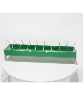 Mangeoire volaille linéaire 50 cm plastique
