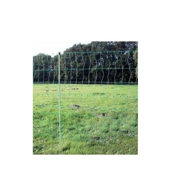 Filet de protection clôture électrifiable pour volailles, canards, à grosseur de maille progressive