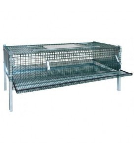 Modèle Eco Nid Pondoir en métal galvanisé pour petites poules ou cailles