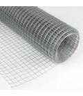 Grillage 10,6x10,6/fil 0,9/1000/25m volieres galvaniser soudé