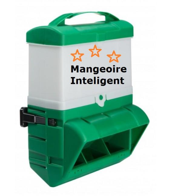 """MS- Mangeoire intello et 'flexible"""" 10KG + 5 KG"""
