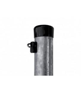 Pack Poteaux Galvanisés Hauteur 2300 mm, diamètre 38 mm, épaisseur 1,25 mm + fixation fil tension