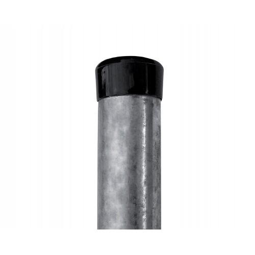 Pack Poteaux Galvanisés Hauteur 1500 mm, diamètre 48 mm, épaisseur 1,50 mm sans fixation fil tension