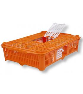 Caisse de transport pour cailles et pigeons, à fond ferme - 13 cm de haut