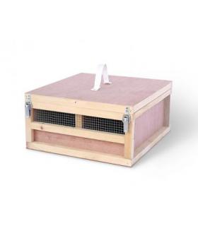 Caisse de transport de volaille de Race pour transport en expositions - 18cm de haut – 2 à 4 compartiments