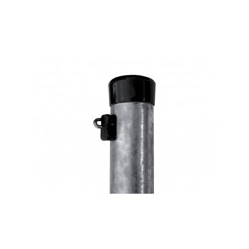Pack Poteaux Galvanisés Hauteur 2600 mm, diamètre 48 mm, épaisseur 1,50 mm + fixation fil tension