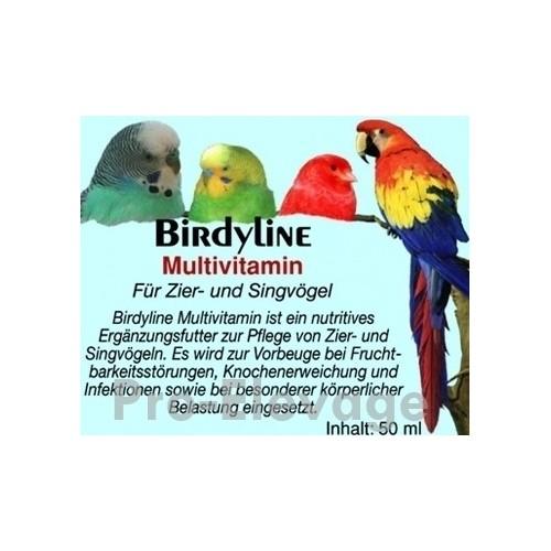 BirdyLine Multivitamine 50 ml ***