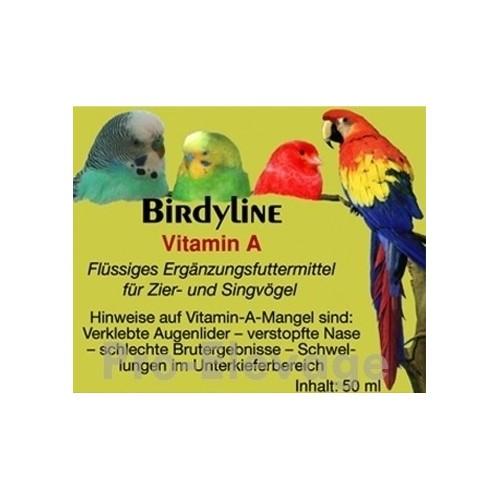 BirdyLine Vitamine A 50 ml ***