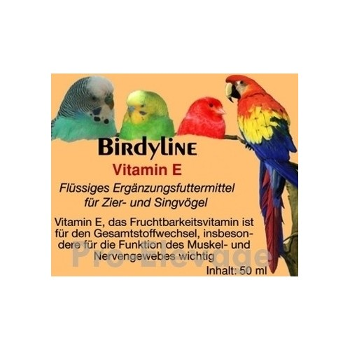 BirdyLine Vitamine E 50 ml ***