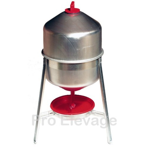 Boule Abreuvoir Tri-pied Tôle 30 litres