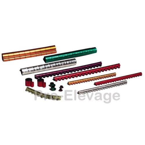 20 Bagues Clip de Ø2.5mm à Ø12mm