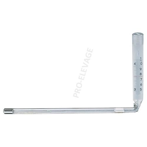 Thermomètre Coudé Angle