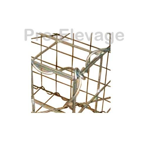 Pack 20 Gabions 1000Lx500LGx1000H 100*50 Fil 4.5mm