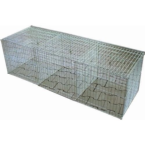 Cage Exposition 40x40x120 x3