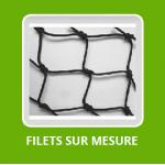 FILET COUVERTURE VOLIÈRES / Fabrication Tressé sur mesure