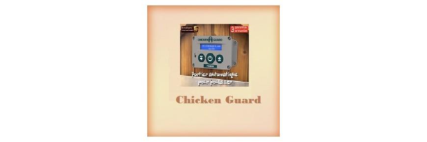 Chicken Guard ouvre et ferme des poulaillers