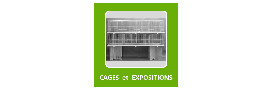 Cages d'Expo et caisses de Transport