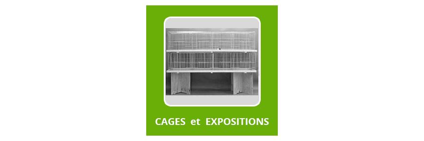 Cages de Expo et caisses de Transport
