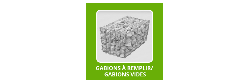 Gabions / Cages a Pierres