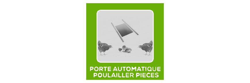 Porte Automatique Poulailler Piéces