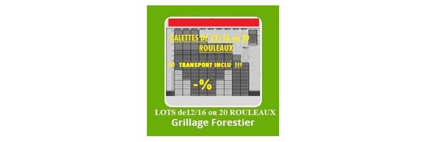 Grillage Forestier | Grillage Galvanisé Pas Cher