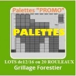 GRILLAGE FORESTIER VENTE PALETTE