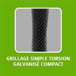 Grillage SIMPLE TORSION Galvanisé Compact