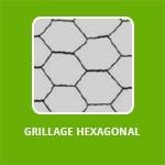 GRILLAGE A POULES HEXAGONAL