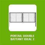 PORTAIL DOUBLE BATTANT - IDEAL 2