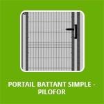 PORTAIL BATTANT SIMPLE - PILOFOR