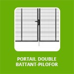 PORTAIL DOUBLE BATTANT - PILOFOR