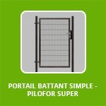 PORTAIL BATTANT SIMPLE - PILOFOR SUPER