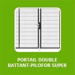 PORTAIL DOUBLE BATTANT - PILOFOR SUPER
