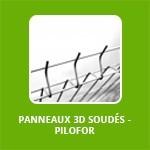 PANNEAUX 3D SOUDÉS - PILOFOR