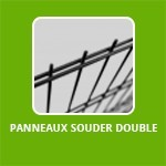 PANNEAUX SOUDER DOUBLE FIL