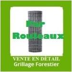 GRILLAGE FORESTIER PAR ROULEAUX