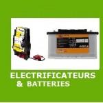 Batteries pour clôture